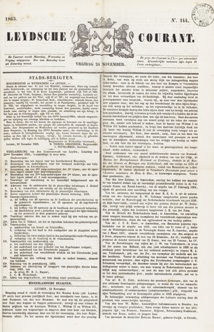 Leydse Courant 1865-11-24
