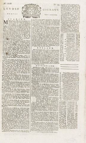 Leydse Courant 1818-08-07