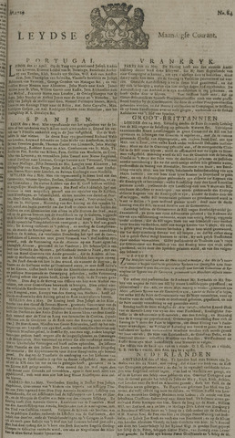 Leydse Courant 1729-05-30
