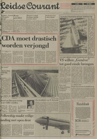 Leidse Courant 1983-09-27