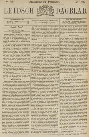 Leidsch Dagblad 1885-02-16