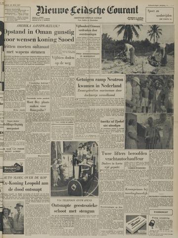 Nieuwe Leidsche Courant 1957-07-22