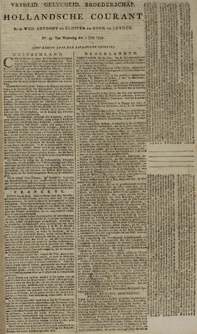 Leydse Courant 1795-07-01