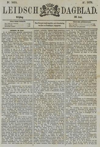 Leidsch Dagblad 1876-06-30