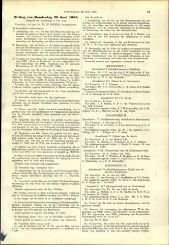 Handelingen van de Raad 1905-06-29