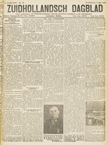 Zuidhollandsch Dagblad 1944-05-03