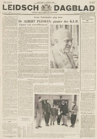 Leidsch Dagblad 1954