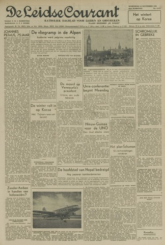 Leidse Courant 1950-11-15