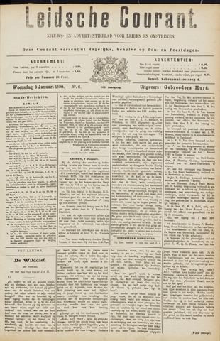 Leydse Courant 1890-01-08