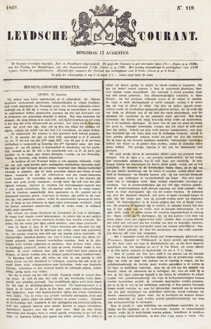 Leydse Courant 1869-08-17