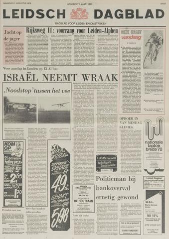 Leidsch Dagblad 1978-08-21