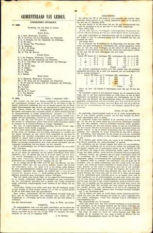 Handelingen van de Raad 1885-09-07