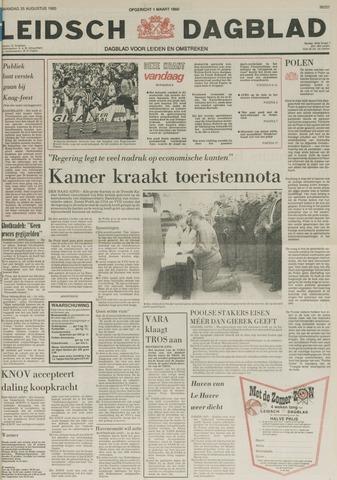 Leidsch Dagblad 1980-08-25
