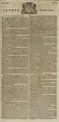 Leydse Courant 1754-02-22
