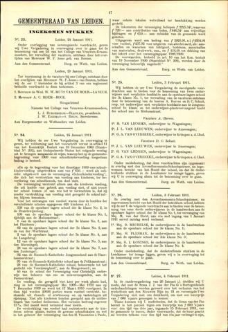 Handelingen van de Raad 1911-01-24