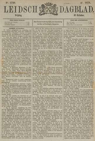 Leidsch Dagblad 1878-10-18