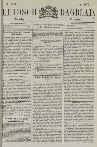 Leidsch Dagblad 1875-01-27