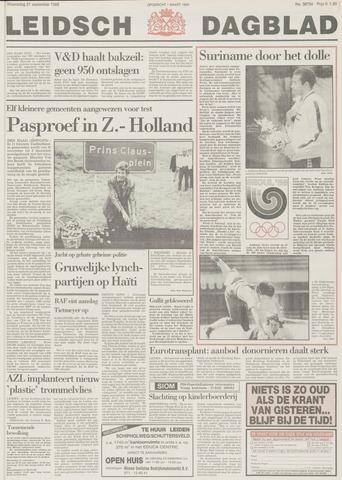 Leidsch Dagblad 1988-09-21