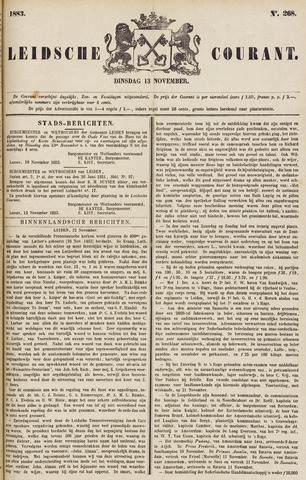 Leydse Courant 1883-11-13