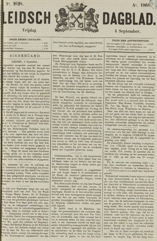 Leidsch Dagblad 1868-09-04