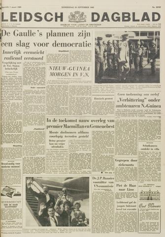Leidsch Dagblad 1962-09-20