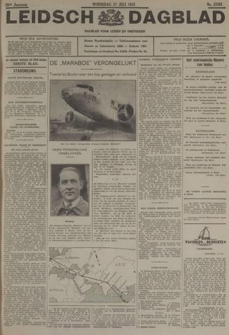 Leidsch Dagblad 1935-07-17