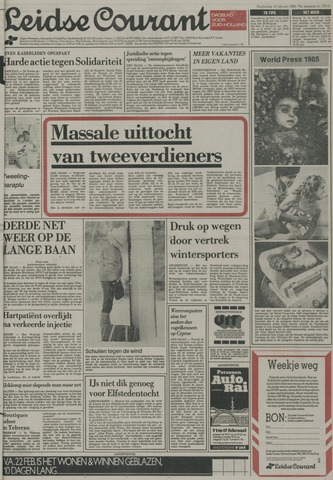 Leidse Courant 1985-02-14