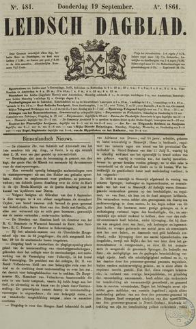Leidsch Dagblad 1861-09-19
