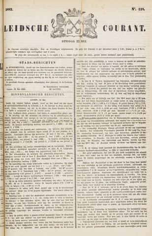 Leydse Courant 1883-05-22