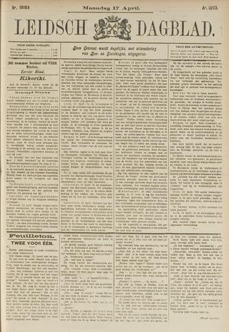 Leidsch Dagblad 1893-04-17