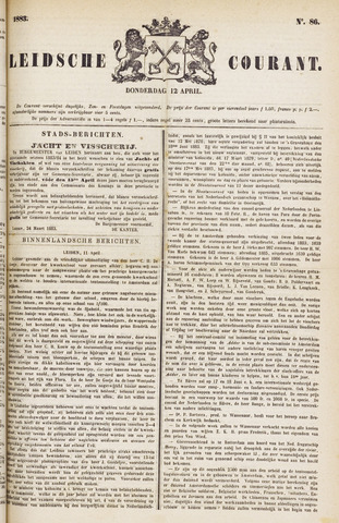 Leydse Courant 1883-04-12