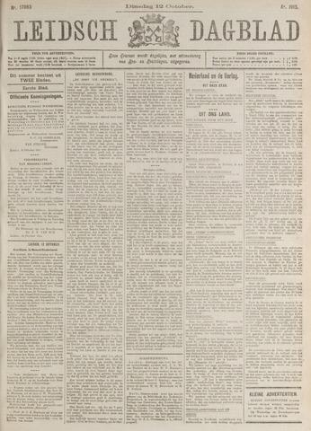 Leidsch Dagblad 1915-10-12