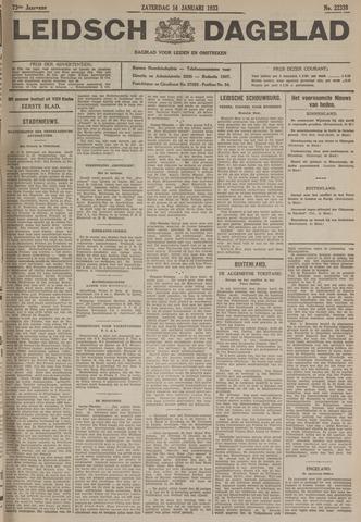 Leidsch Dagblad 1933-01-14