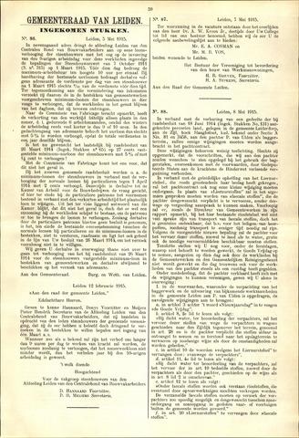 Handelingen van de Raad 1915-05-05