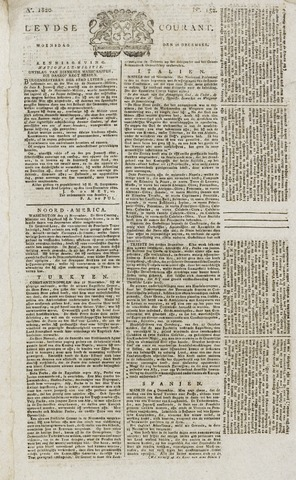 Leydse Courant 1820-12-20