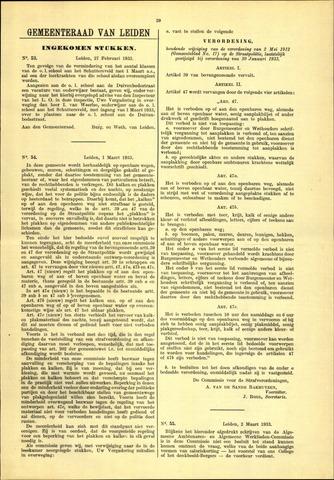 Handelingen van de Raad 1933-02-27