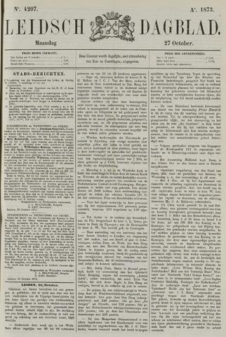 Leidsch Dagblad 1873-10-27