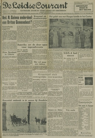 Leidse Courant 1958-01-27