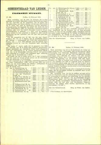 Handelingen van de Raad 1930-02-18