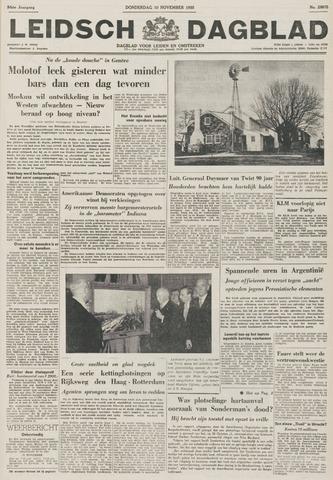 Leidsch Dagblad 1955-11-10