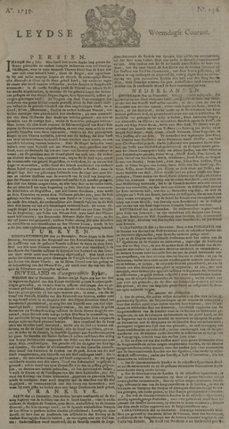 Leydse Courant 1739-12-30