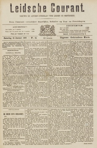 Leydse Courant 1887-01-22