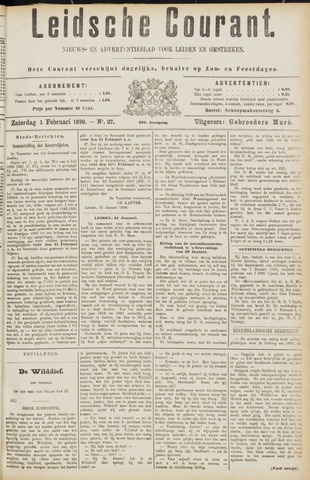 Leydse Courant 1890-02-01