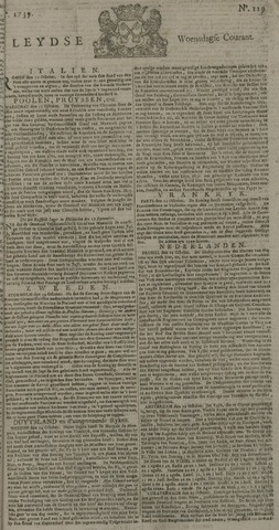 Leydse Courant 1739-10-28