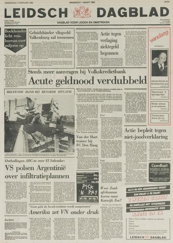 Leidsch Dagblad 1982-02-04
