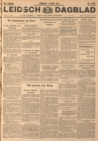 Leidsch Dagblad 1942-03-04