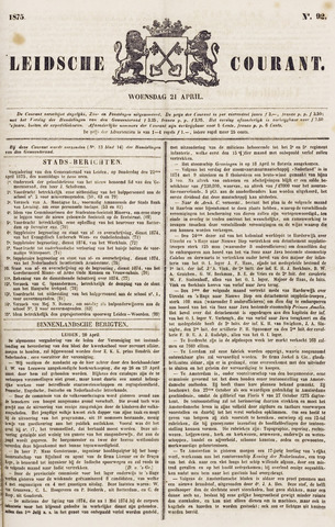 Leydse Courant 1875-04-21