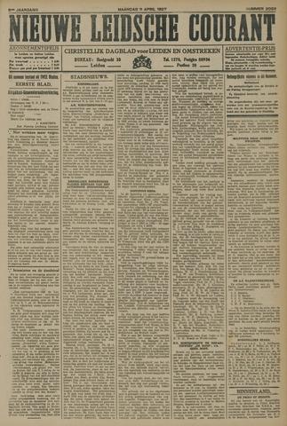 Nieuwe Leidsche Courant 1927-04-11