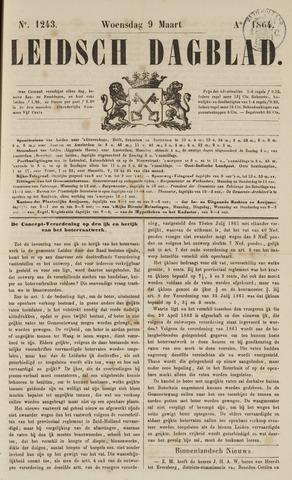 Leidsch Dagblad 1864-03-09
