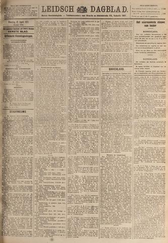 Leidsch Dagblad 1921-04-12